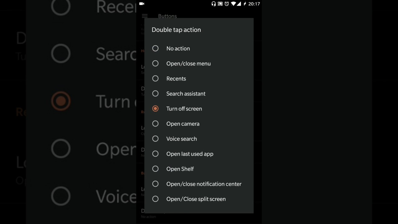 Enable double tap for screen off - OnePlus Community