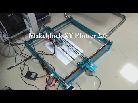 XY Plotter 2 0 How it works? - YouTube