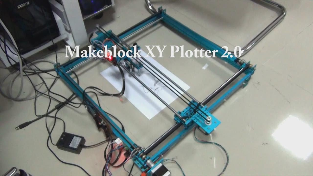 XY Plotter 2 0 How it works?