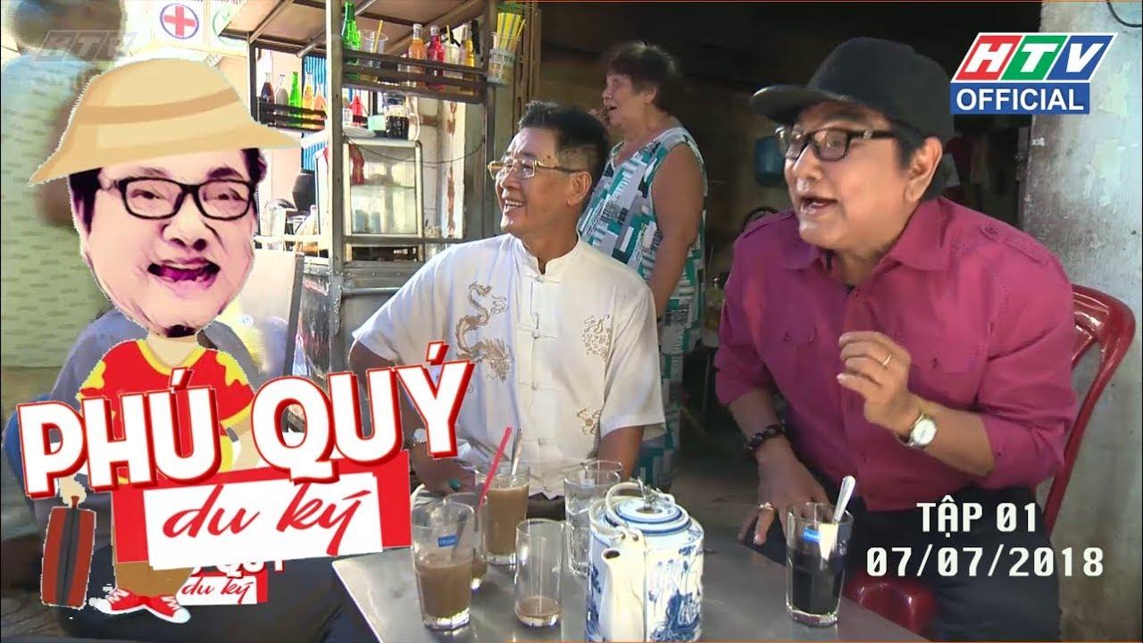 image HTV PHÚ QUÝ DU KÝ   TẬP 1   Cà phê rang tay    PQDK  #1 7/7/2018