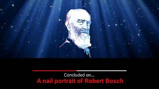 3D Painting - Making video of Mr Robert Bosch by  Satyanand
