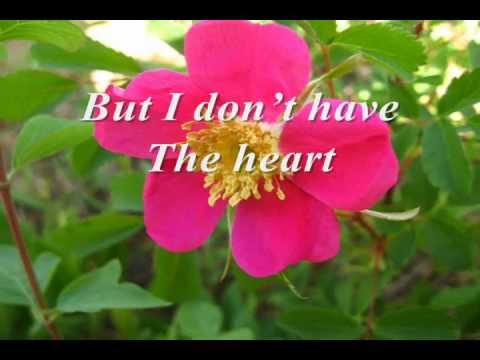 I Don't Have The Heart by James Ingram With Lyrics