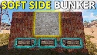 SOFT SIDE RAIDING A WEAPON RICH BUNKER BASE! - Rust Survival 4/4