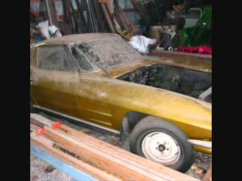 Chevy Corvette Barn Find Doovi