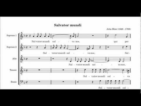 Chichester Cathedral Choir: Salvator Mundi (Blow)