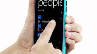 Nokia Lumia 800- Link online friends