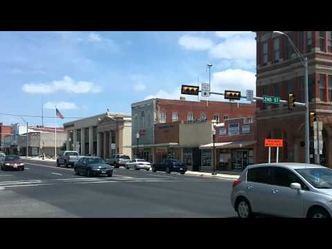 Real Estate Agent Tour Historic Downtown Taylor TX