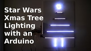 Diy Making A Christmas Tree W/ An Arduino - Star Wars Lighting Pattern