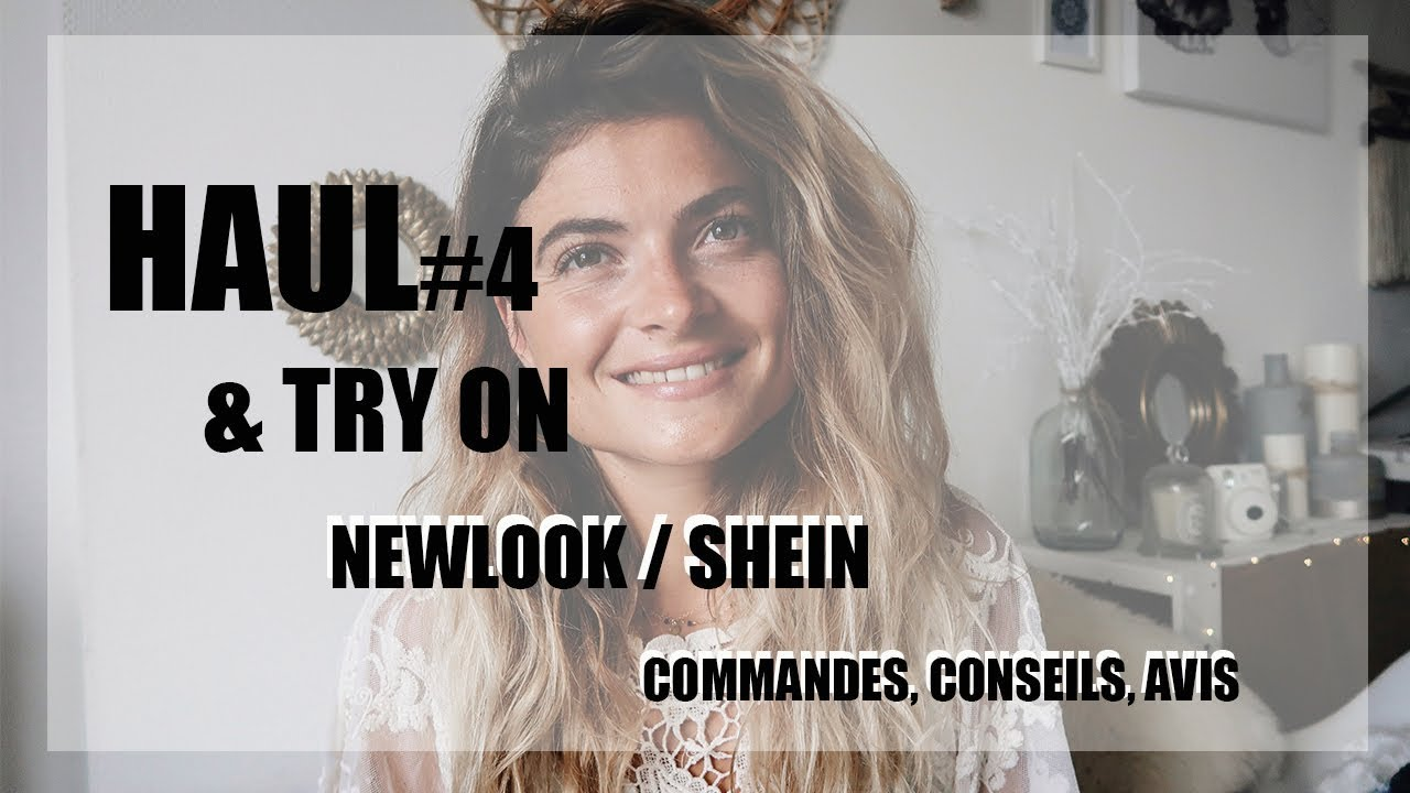 haul 5 try on newlook shein conseils et avis youtube. Black Bedroom Furniture Sets. Home Design Ideas