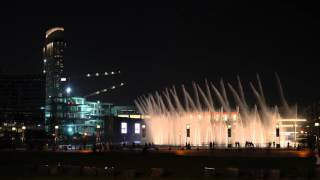 The Dubai Fountain - Lionel Richie - All Night Long - 4K !