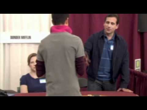 steve carell and blaise embry on quotthe officequot youtube