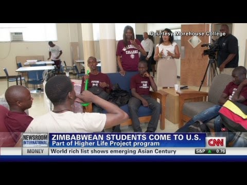 Zimbabwean students come to U.S.