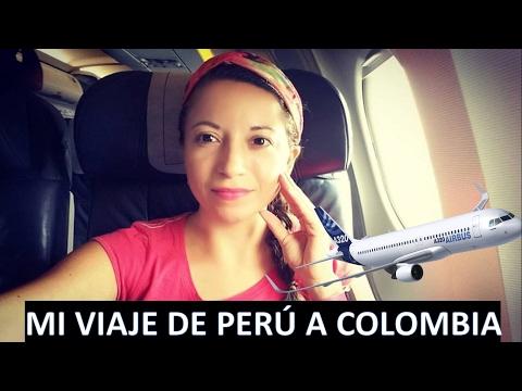 MI VIAJE A COLOMBIA: CHICLAYO, LIMA, BOGOTA, VILLAVICENCIO.