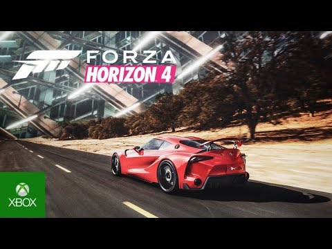 forza horizon 4 e3 gameplay trailer japan the story of. Black Bedroom Furniture Sets. Home Design Ideas