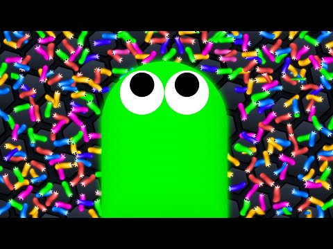 I Ate 100,000 SNAKES To Get THIS BIG! (Slither.io)