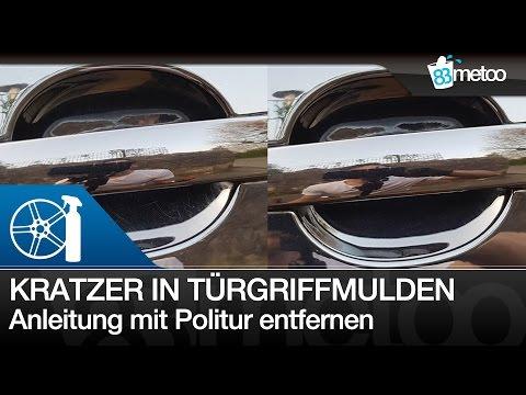 Kratzer in Türgriffmulden polieren | Kratzer Auto Türgriff entfernen | Polieren für Anfänger