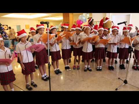 Christmas Carol Performance by Anglo Singapore International School