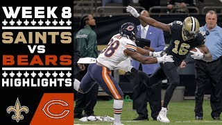 Saints vs Bears Highlights ⚜ Week 8