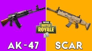 Heavy AR vs Scar