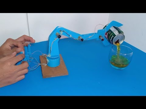 DIY robot arm , How to make a powerful robotic arm