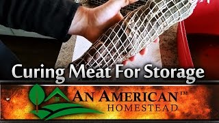 Curing Meat For Storage