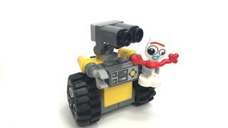 LEGO Walle and Forky team up tutorial