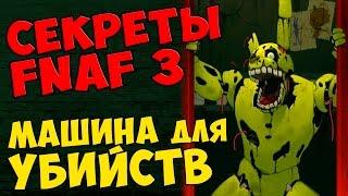 - Five Nights At Freddy s 3 МАШИНА ДЛЯ УБИЙСТВ