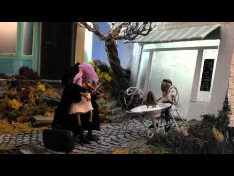 Violet – pale noise / stop motion game trailer english