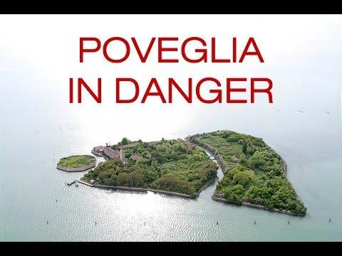 Poveglia:  helicopter flyover of Venice's haunted island