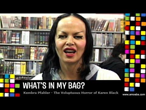 Kembra Pfahler (Voluptuous Horror of Karen Black) - What's In My Bag?