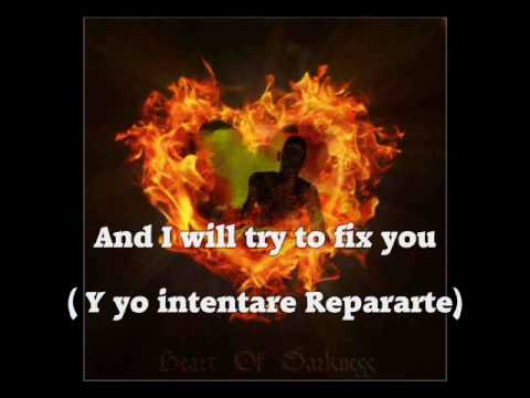 Fix you coldplay (subtitulado ingles y español)