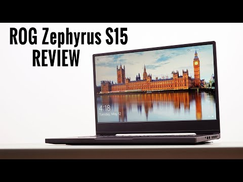 High-end gaming laptop - ASUS ROG Zephyrus S15 review - 2020 model (8-Core i7 + RTX 2080 Super)