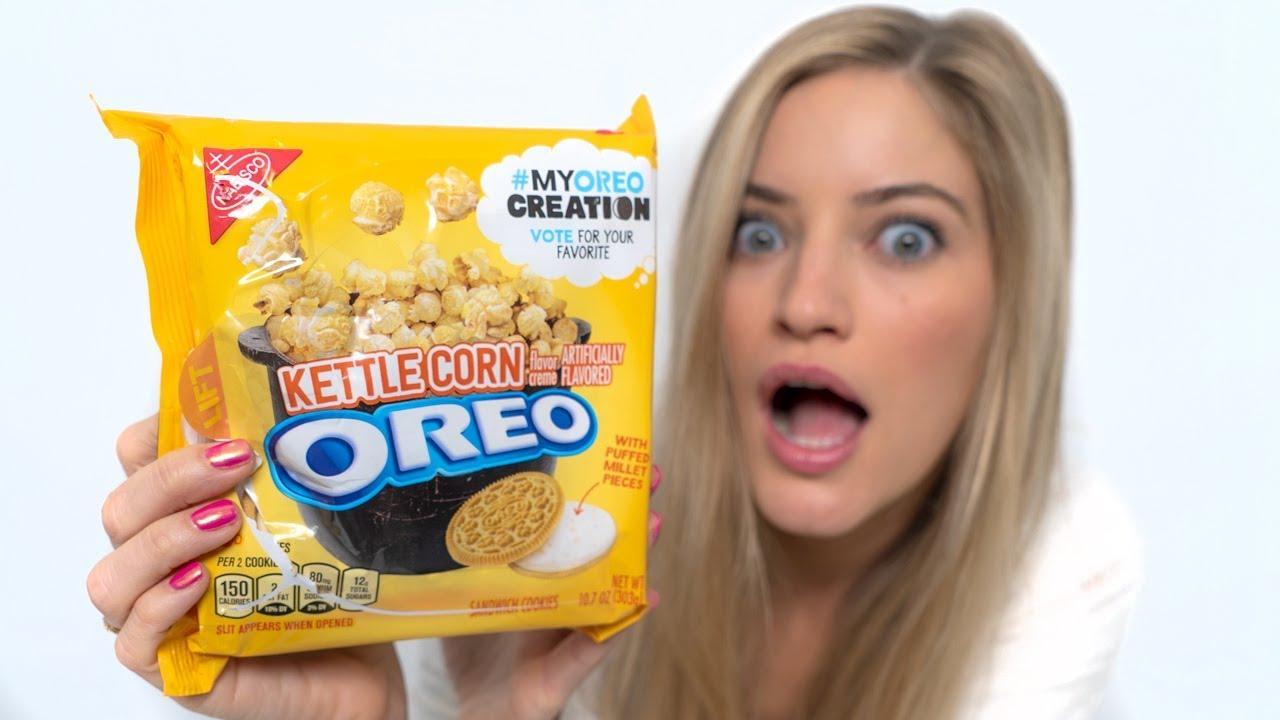 Oreo Kettlecorn Taste Test