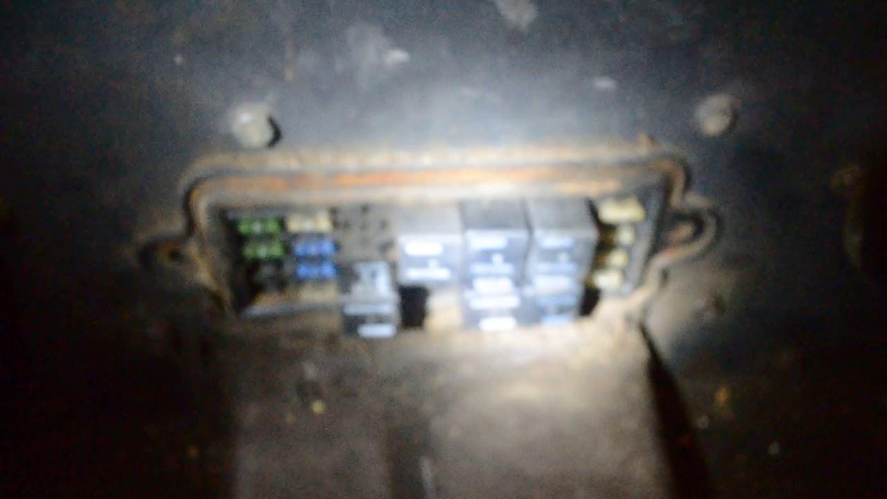 Bobcat S185 fuse and relay box location  YouTube