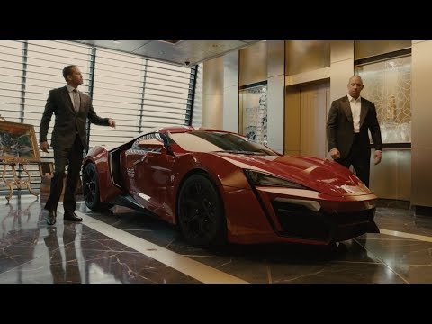 Fast & Furious 7 – Behind the scenes with the Lykan HyperSport