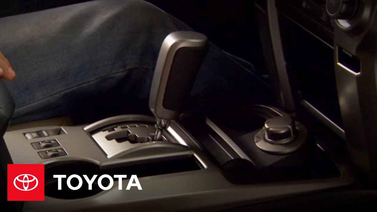 2010 4Runner How-To: Transmission Operation | Toyota
