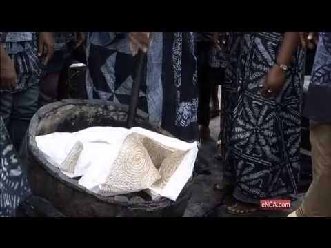The ancient art of the Adire cloth makes a comeback in south-west Nigeria
