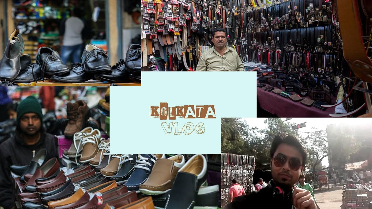 9073b71433b Padmapukur Leather Market, The Juto Bazar, Kolkata Vlog - YouTube
