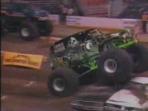 classic monster truck commercials
