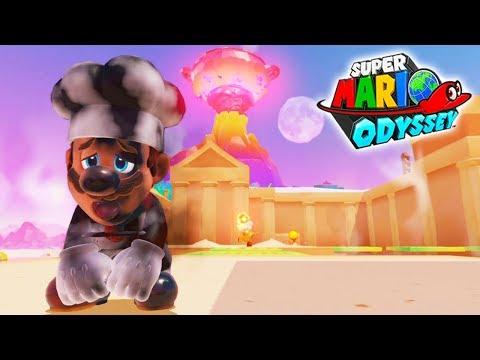 COCINERO A LA CAZUELA | Super Mario Odyssey #19 | Nintendo Switch