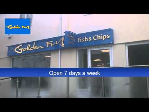 Golden Fry And Fish Bar, Fish And Chip Shops In Cornwall