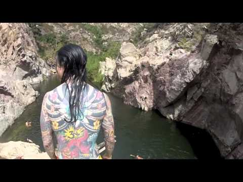 Cliff Jumping at Ridge Dam (Malibu, CA)
