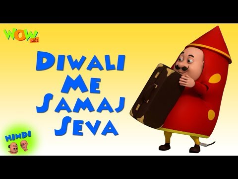 Diwali Me Samaj Seva - Motu Patlu in Hindi - 3D Animation Cartoon - As on Nickelodeon
