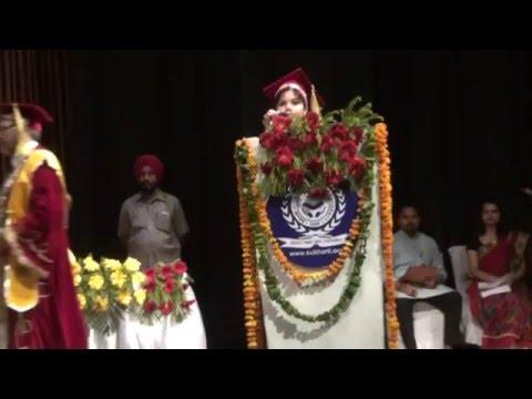 Subharti University Diploma Convocation at  Mangalya Auditorium on 16 th May Clip6