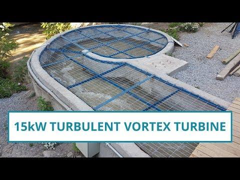15kW Vortex turbine with more technical details