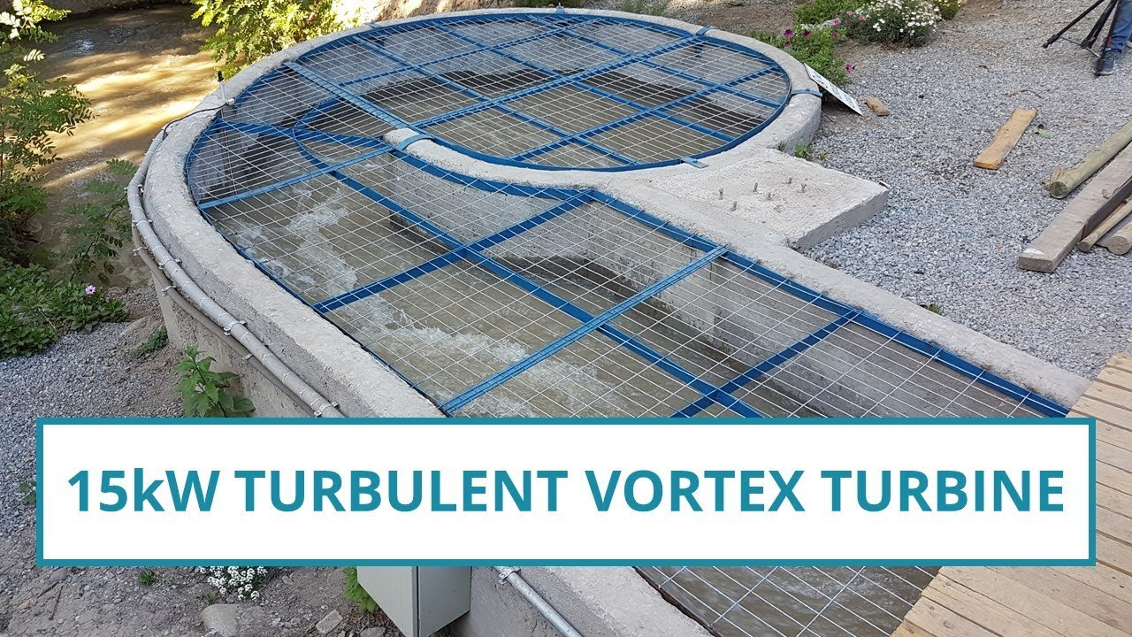 15kw Vortex Turbine With More Technical Details Youtube