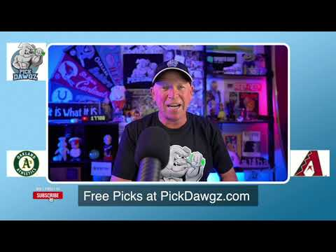 Arizona Diamondbacks vs Oakland Athletics Free Pick 8/19/20 MLB Pick and Prediction MLB Tips