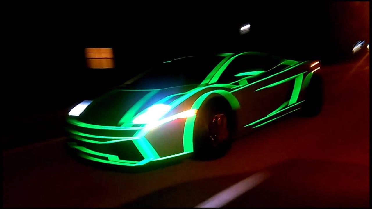 Tron Lamborghini Gallardo By 201wrap Youtube