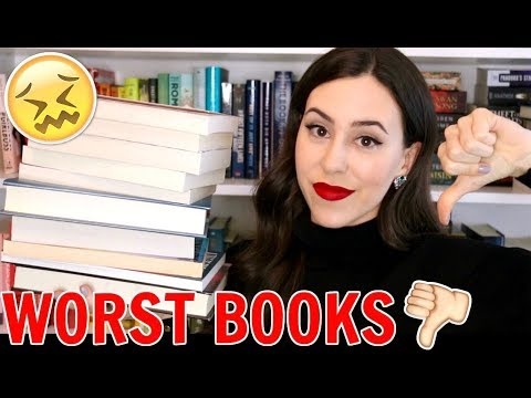 Worst Books of 2017 & Unpopular Book Opinions || Books with Emily Fox