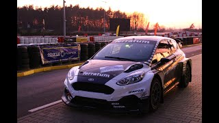 Holowczyc in STARD all Electric Ford Fiesta RX car